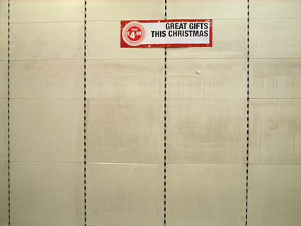 Goodbye to Woolworths, Brixton Road, Brixton, London, December 2008