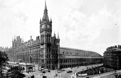 History Of St Pancras Railway Station Midland Grand Hotel