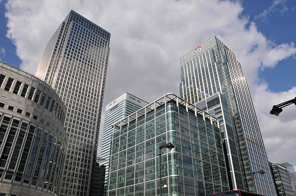 Photos Of Canary Wharf Architecture And Tube Station