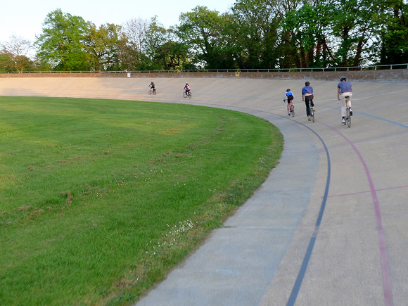 Herne Hill Velodrome Cycling Film Night, 17th April, 2011, south London