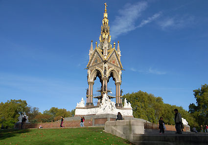 Hyde Park Monuments Albert Memorial Hyde Park