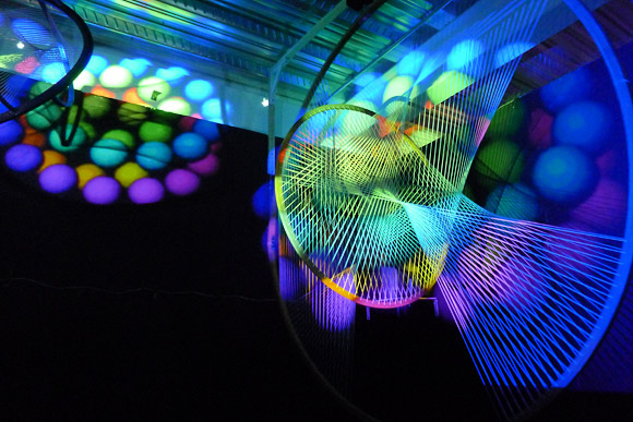 Kinetica Art Fair 2012, 11th February 2012 at Ambika P3, 35 Marylebone Road, London, NW1 5LS