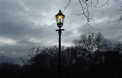 Gas Station Close To Me >> Gas lamps and gas lighting in London, England, UK