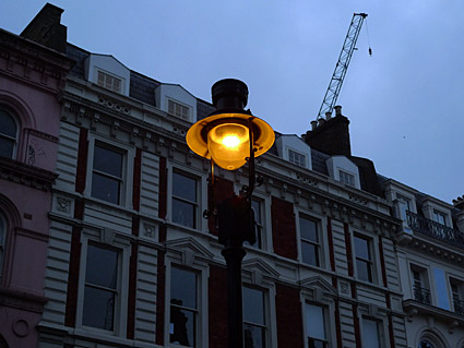 Gas Lamps And Gas Lighting In London England Uk