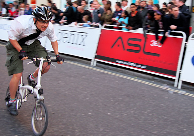 London Nocturne 2012 Bike Races At Smithfield Central
