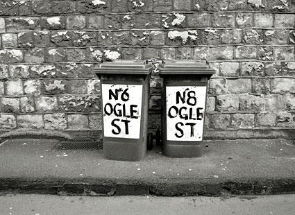 Bins, Ogle Street.