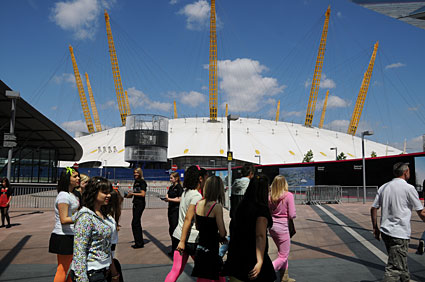 Photos Of The O2 Entertainment District 02 Dome And