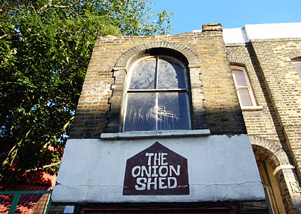 The Onion Shed, Camberwell
