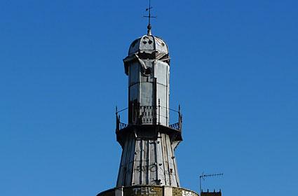 The Oysterhouse Lighthouse, Gray's Inn Road, Kings Cross, London, October 2007