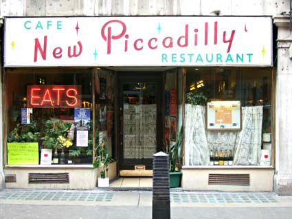 Goodbye New Piccadilly cafe