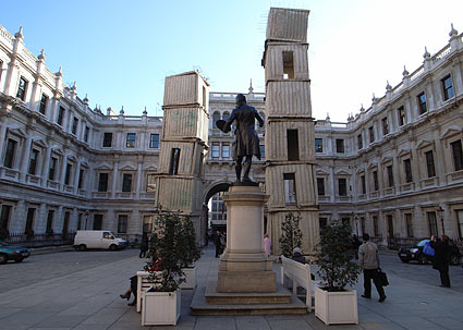 Jericho sculpture, Royal Academy