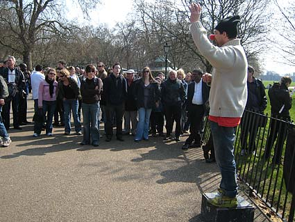 Photos of Speakers' Corner, Hyde Park, Marble Arch, London