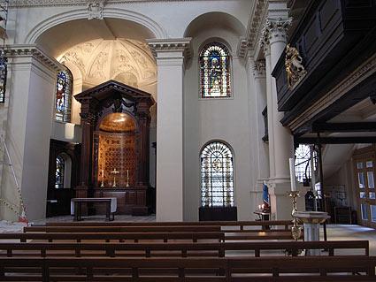 St George's church, Bloomsbury