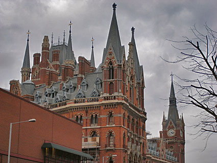 Return to St Pancras station