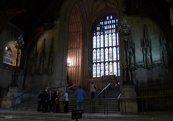 Photos of Westminster Hall, Houses of Parliament, central London, 28th October 2010