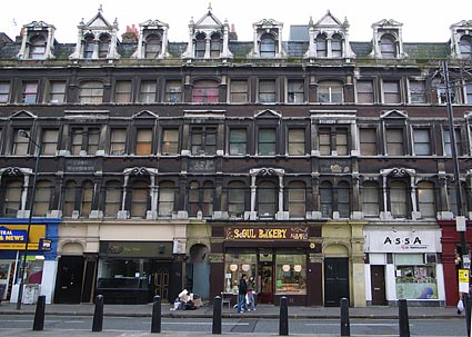 York Mansions and Clifton Mansions