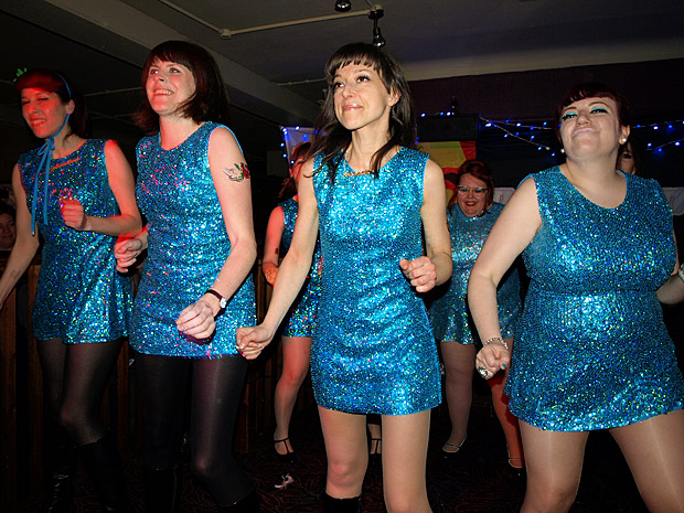 Sat 21st April 2012:  VIVA LAS VEGAS with THE ACTIONETTES! at the Brixton Offline Club, Prince Albert, 418 Coldharbour Lane, Brixton, London SW9