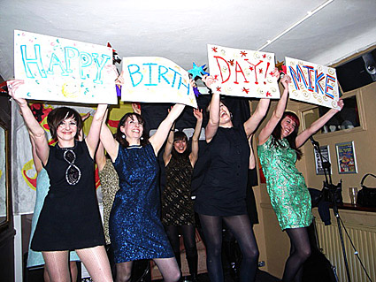 Offline birthday party at the Prince Albert with Filthy Pedro, The No Frills Band, Lady Lykez, The Actionettes and Vic Lambrusco - Coldharbour Lane, Brixton, London Friday 3rd April 2009