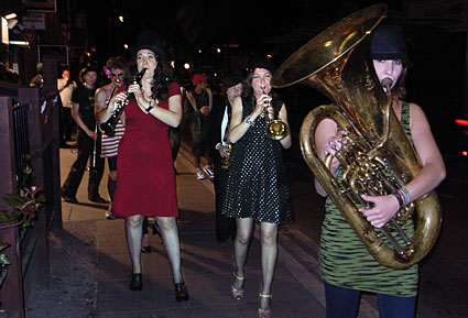 Trans-Siberian March Band at Offline
