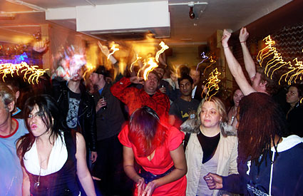 Offline New Year's Eve party at the Albert, Brixton, London