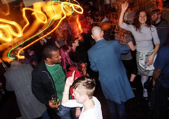 Friday 17th Feb 2012: DJ night at the Brixton Offline Club, Prince Albert, 418 Coldharbour Lane, Brixton, London SW9