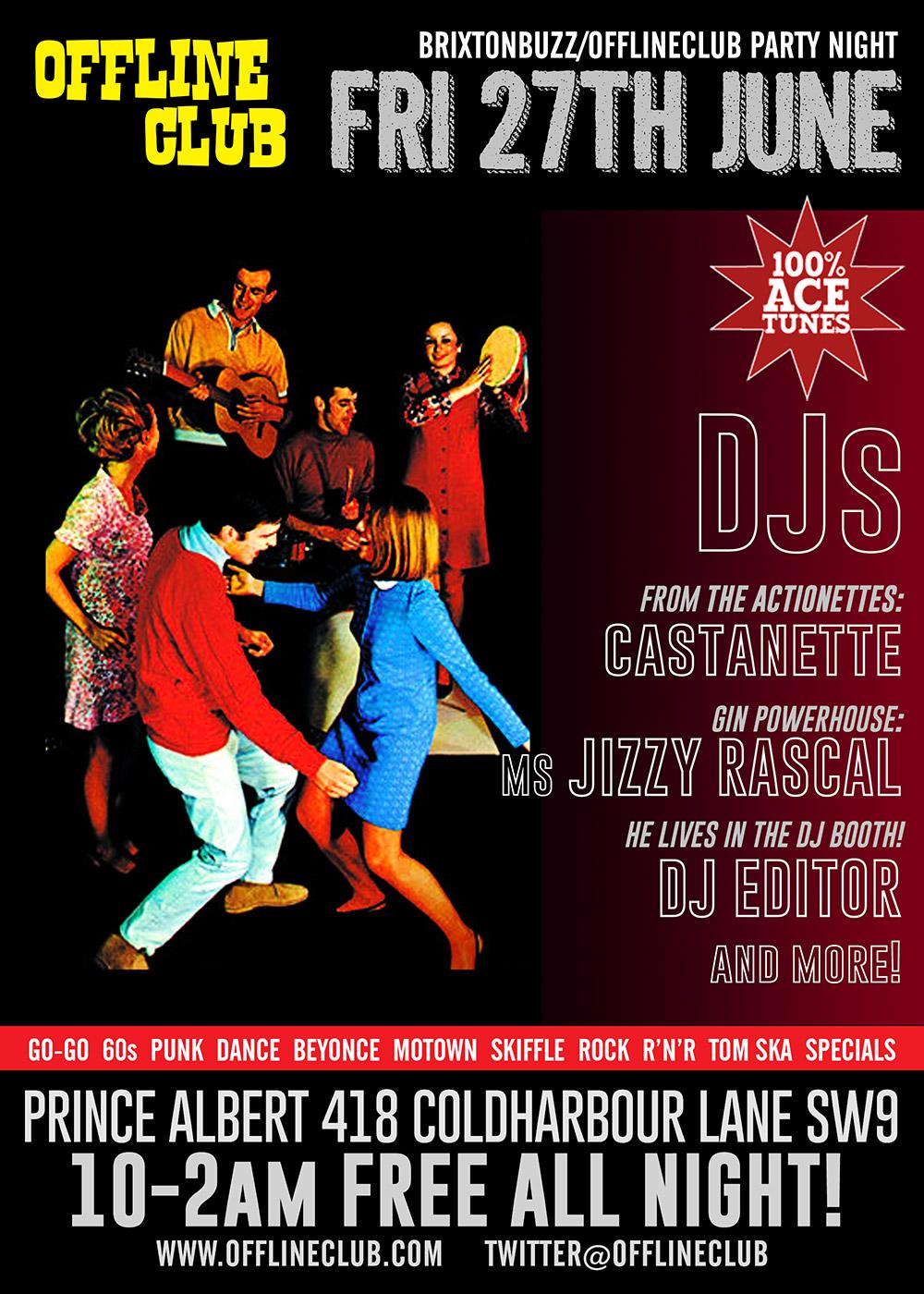 Friday 27th June Dj Night At Offline Club Prince Albert