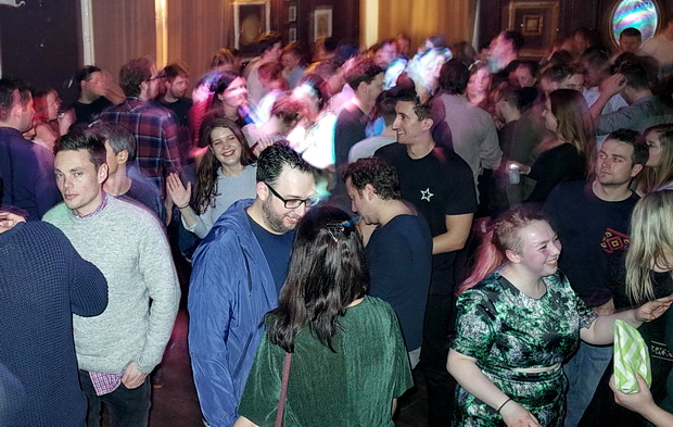 Offline Club at the Dogstar Ballroom, Saturday 4th February 2017, playing ska, indie, punk, new wave,drum'n'bass, electro, punk and pop
