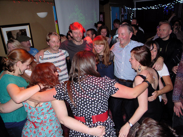 Fri 16th November 2012: Hoedown special with Dr Bluegrass playing live at the Brixton Offline Club, Prince Albert, 418 Coldharbour Lane, Brixton, London SW9, with DJs playing ska, electro, indie, punk, rock'n'roll, big band, rockabilly and skiffle
