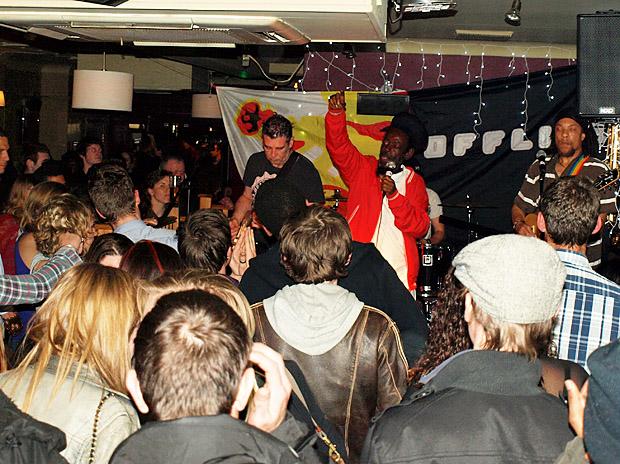 Fri 27th April 2012: The Majestic live at the Brixton Offline Club, Prince Albert, 418 Coldharbour Lane, Brixton, London SW9