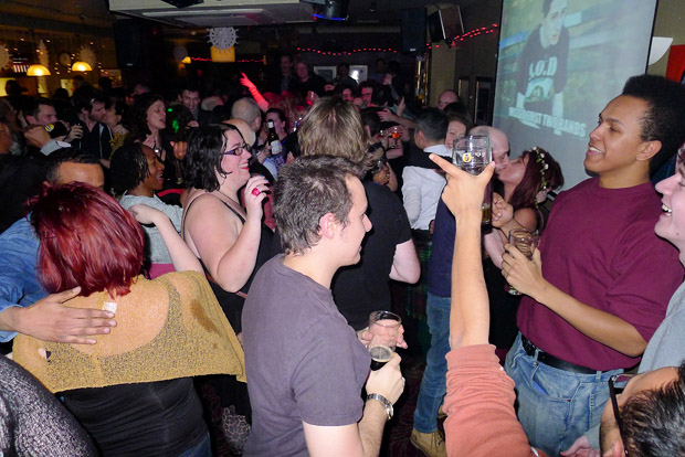 New Year's Eve Party at Offline Club at the Prince Albert, 418 Coldharbour Lane, Brixton, London SW9, with DJs playing ska, electro, indie, punk, rock'n'roll, big band, rockabilly and skiffle