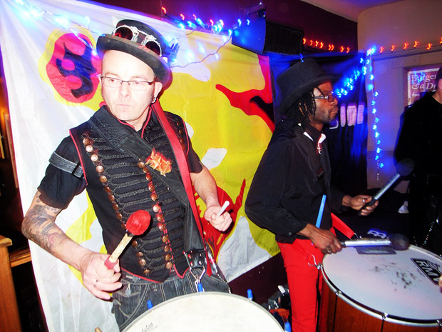 Fri 9th November 2012: LIVE SAMBA SPECIAL at Brixton Offline Club with Barking Bateria playing live at the Prince Albert, 418 Coldharbour Lane, Brixton, London SW9, with DJs playing ska, electro, indie, punk, rock'n'roll, big band, rockabilly and skiffle