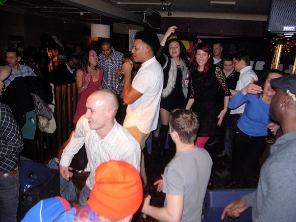 Sat 31st December 2011: NEW YEAR'S EVE PARTY at the Brixton Offline Club, Prince Albert, 418 Coldharbour Lane, Brixton, London SW9 with James Pyke