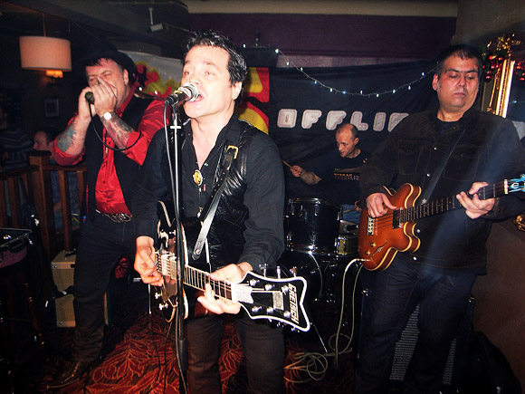 Silver Brazilians at the Brixton Offline Club, Prince Albert, Coldharbour Lane Brixton London SW9, 9th December 2011