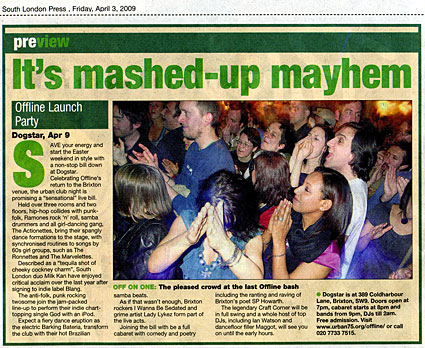 South London press feature