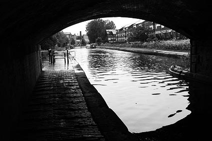 Canals and waterways in and around birmingham england uk
