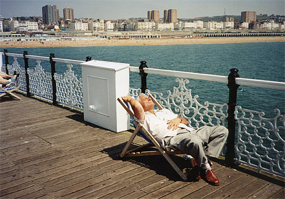 A sunny summer's afternoon in Brighton