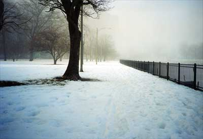 Chicago snow!