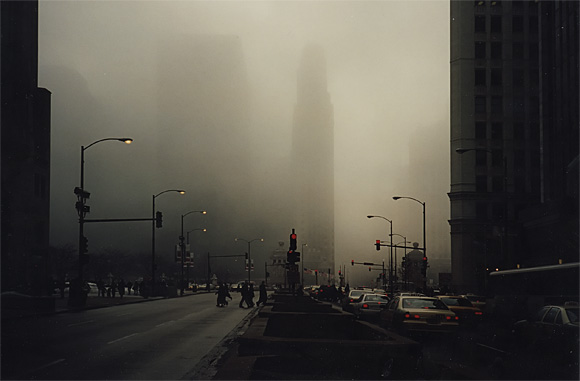 Chicago: snow, fog and Jenny Jones