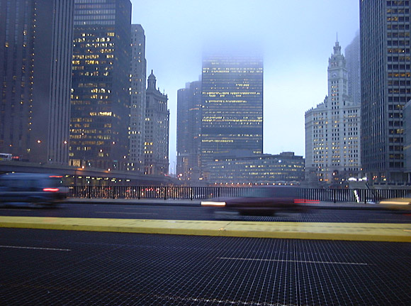 Chicago: snow, fog and Jenny Jones