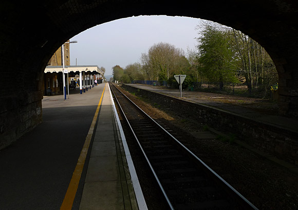 Photos Of Crewkerne Railway Station Opened By London And