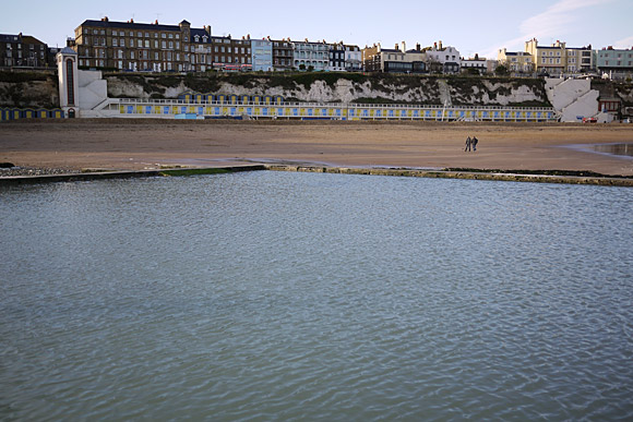 Photos of Broadstairs, beach, town, shops, streets, pubs and more, November, 2009