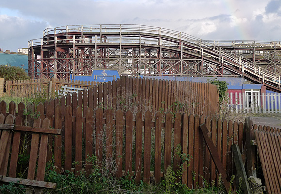 Dreamland, Margate, photos of the world's first amusement park of historic rides and surrounding cinema and shops, November, 2009