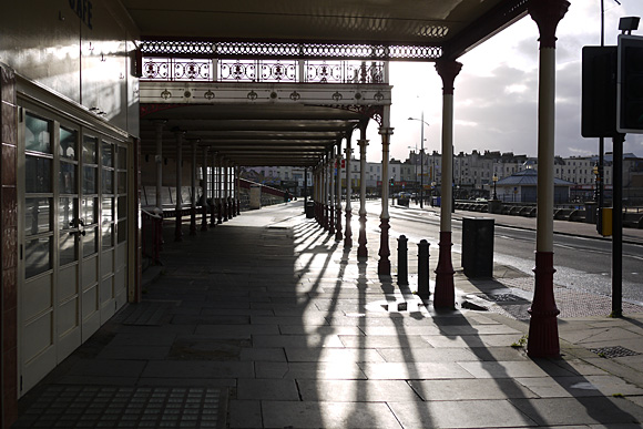 Photos of Margate harbour, beach, old town, promenade and street signs, November, 2009
