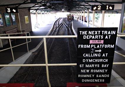 and Dymchurch Railway,