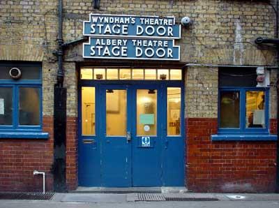 & Stage Door Wyndham Theatre