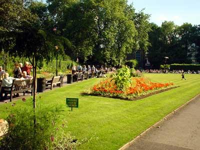 Victoria Embankment Gardens London