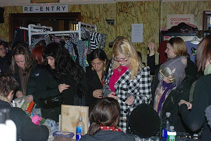 Bust Magazine's Holiday Craftacular, New York pics