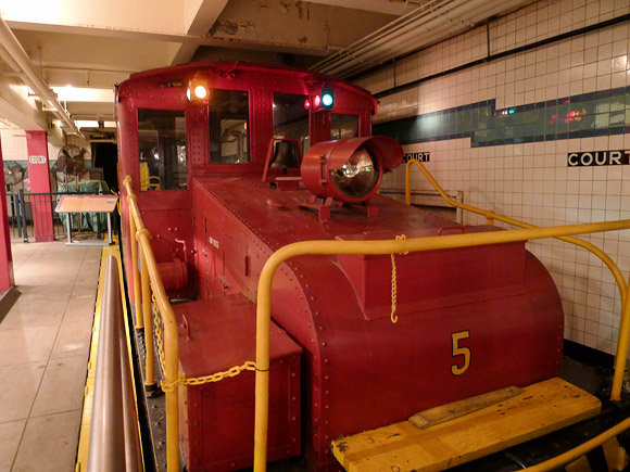 New York Transit Museum Brooklyn Heights New York Nyc