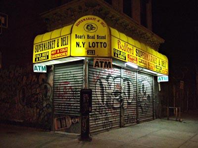 Brooklyn New York at Night