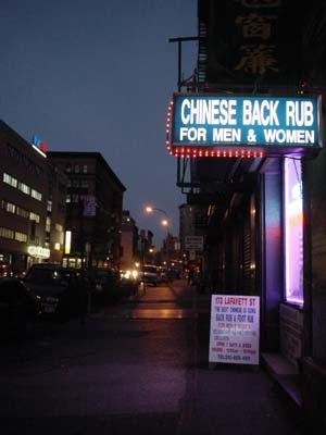 back rub new york Bunbury